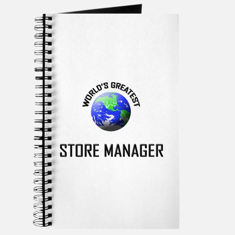 World's Greatest STORE MANAGER Journal