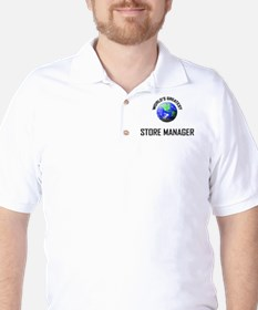 World's Greatest STORE MANAGER Golf Shirt