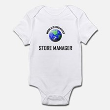 World's Greatest STORE MANAGER Infant Bodysuit