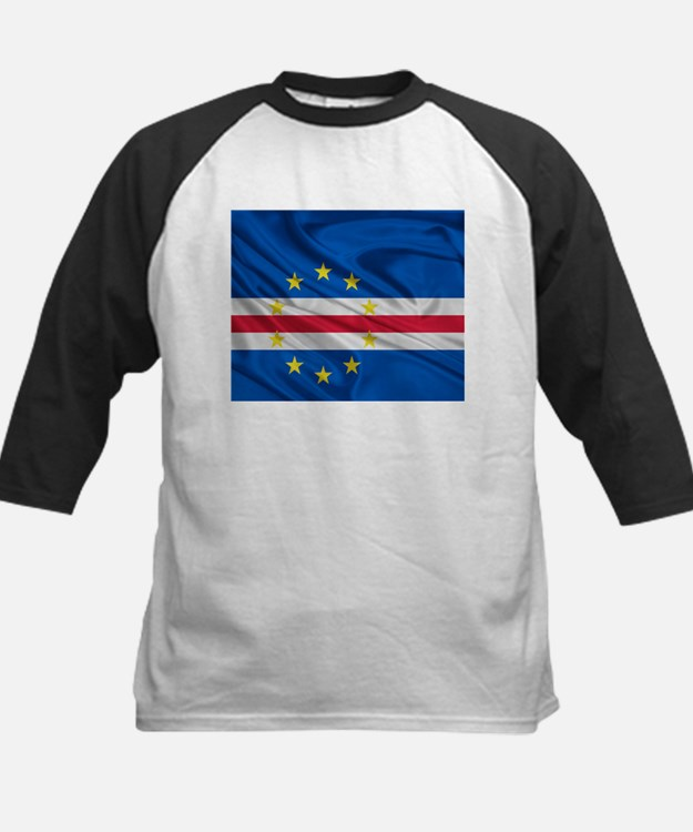 Cape Verde Flag Baseball Jersey