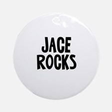 Jace Rocks Ornament (Round)