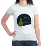 Keep Christ in Christmas Jr. Ringer T-Shirt