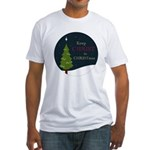 Keep Christ in Christmas Fitted T-Shirt