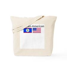 Belizean American Tote Bag