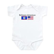 Belizean American Onesie