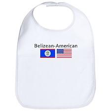 Belizean American Bib