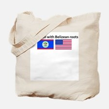 American with Belizean roots Tote Bag