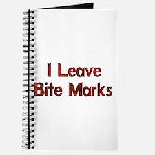 I Leave Bite Marks Journal