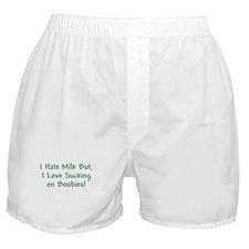 I LOVE BOOBIES BABY GIFT HUMO Boxer Shorts