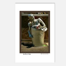 """""""My life, of late."""" postcards<br>(8-pack)"""