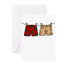 2 boxers Greeting Cards (Pk of 20)