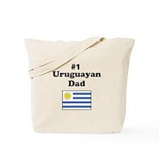 #1 Urugayan Dad Tote Bag