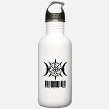 1111 WOLF PAK BLACK Water Bottle