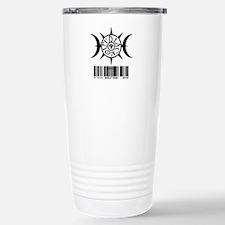 1111 WOLF PAK BLACK Travel Mug