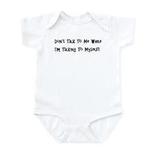 Talking To Myself Infant Bodysuit