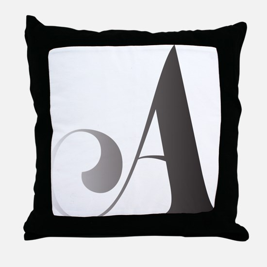 Funny Scroll Throw Pillow