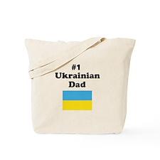 #1 Ukrainian Dad Tote Bag