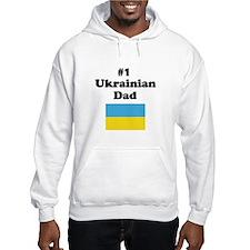 #1 Ukrainian Dad Hoodie
