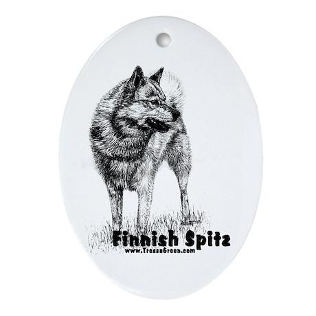 Finnish Spitz Keepsake (Oval)