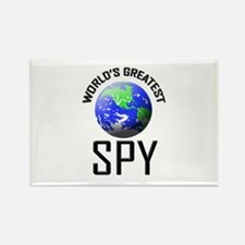 World's Greatest SPY Rectangle Magnet