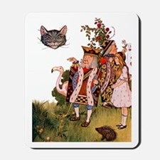 THE KING & THE CHESHIRE CAT Mousepad