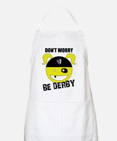 Don't Worry, Be Derby! BBQ Apron