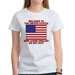Learn English Or Leave Women's T-Shirt