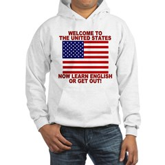 Learn English Or Leave Hoodie