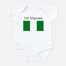 Nigerian Infant Bodysuit