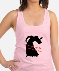 Funny Belly dancing Racerback Tank Top