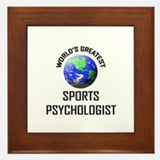 World's Greatest SPORTS PSYCHOLOGIST Framed Tile
