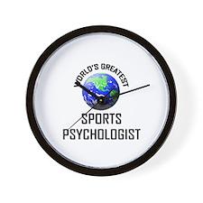 World's Greatest SPORTS PSYCHOLOGIST Wall Clock