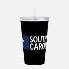 South Carolina: South Acrylic Double-wall Tumbler