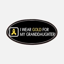 Childhood Cancer: Gold For My Granddaughter Patch