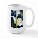 calla lilly art deco flower print Mugs