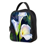 calla lilly art deco flower print Neoprene Lunch B