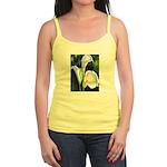 calla lilly art deco flower print Tank Top