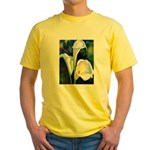 calla lilly art deco flower print T-Shirt
