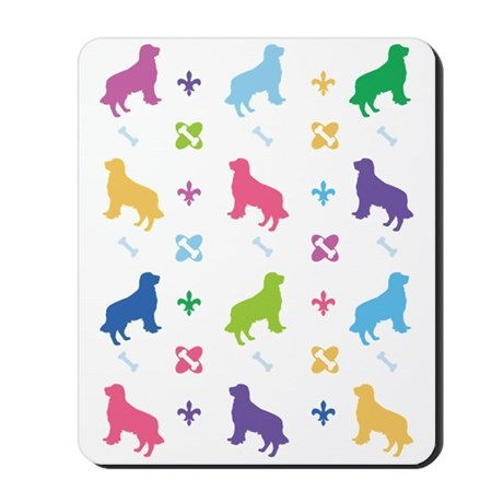 Golden Retriever Designer Mousepad