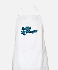Inspiration Text - Daddy's Little Mons Light Apron