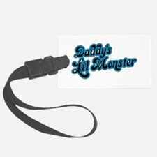Inspiration Text - Daddy's Littl Luggage Tag