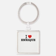 I Love ENRIQUE Keychains