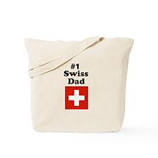 #1 Swiss Dad Tote Bag