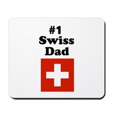 #1 Swiss Dad Mousepad