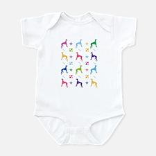 Greyhound Designer Infant Bodysuit