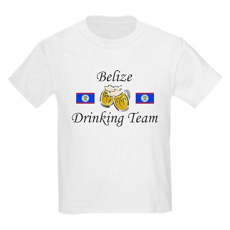Belize Drinking Team Kids Light T-Shirt