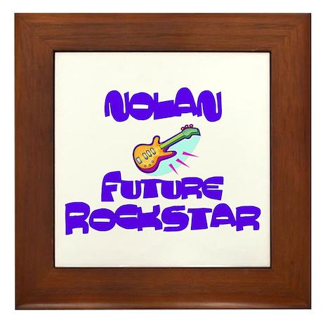 Nolan - Future Rockstar Framed Tile
