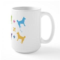 Husky Dog Large Mug