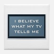 Mainstream Media Tile Coaster