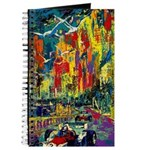 Grand Prix Auto Race Painting Print Journal